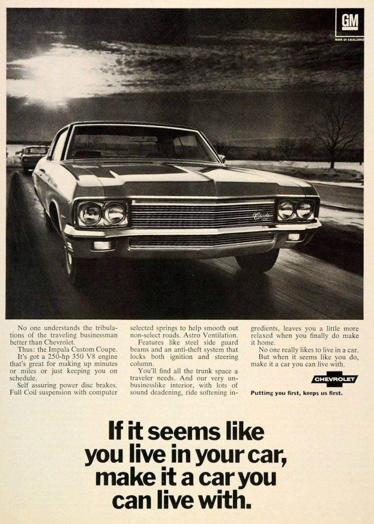1970 Chevrolet Impala Custom Coupe V8