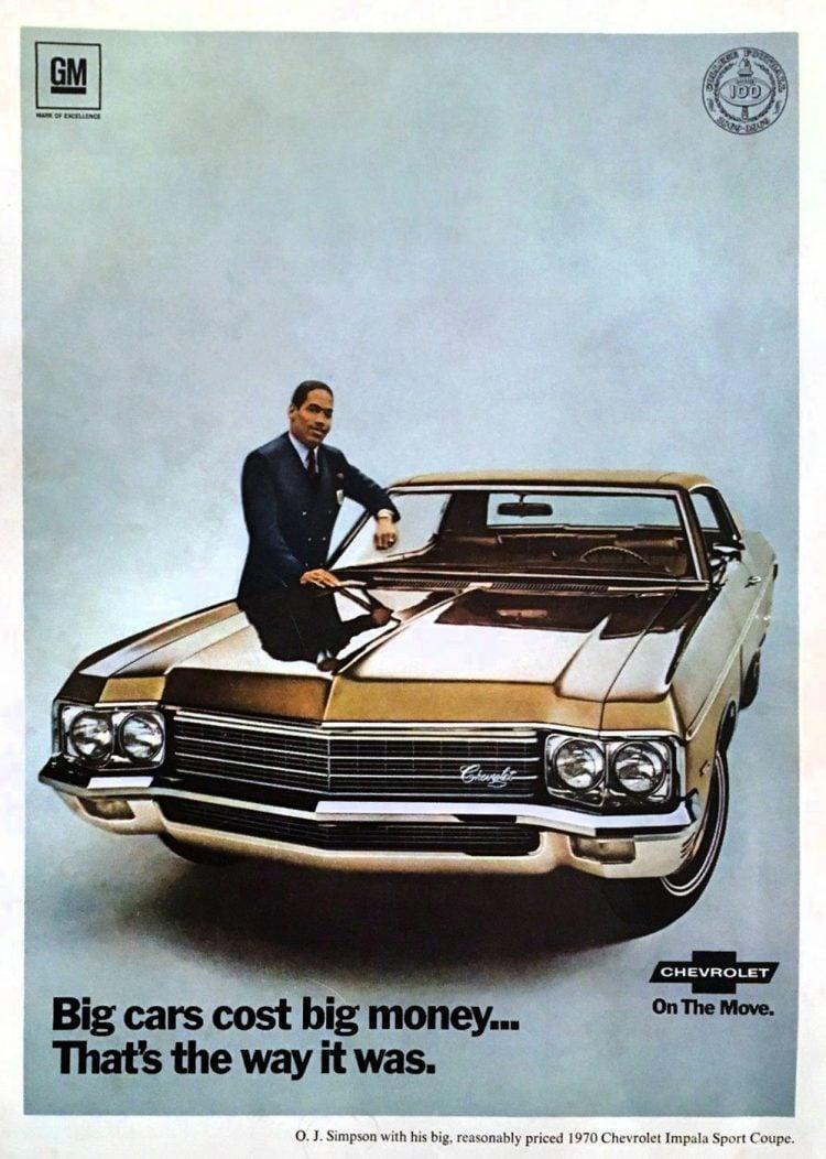 1970 Chevrolet Impala Sports Coupe OJ Simpson