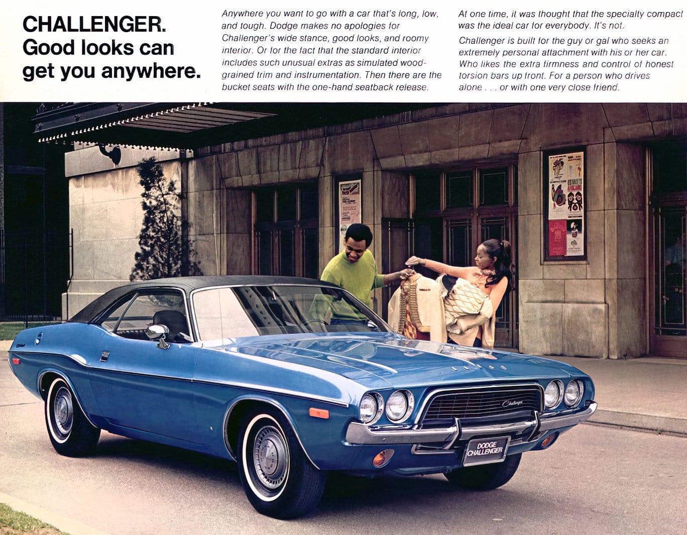 1970 Dodge Challenger blue