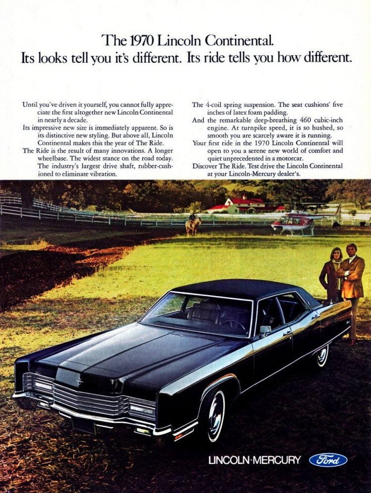 1970 Lincoln Continental car from Ford