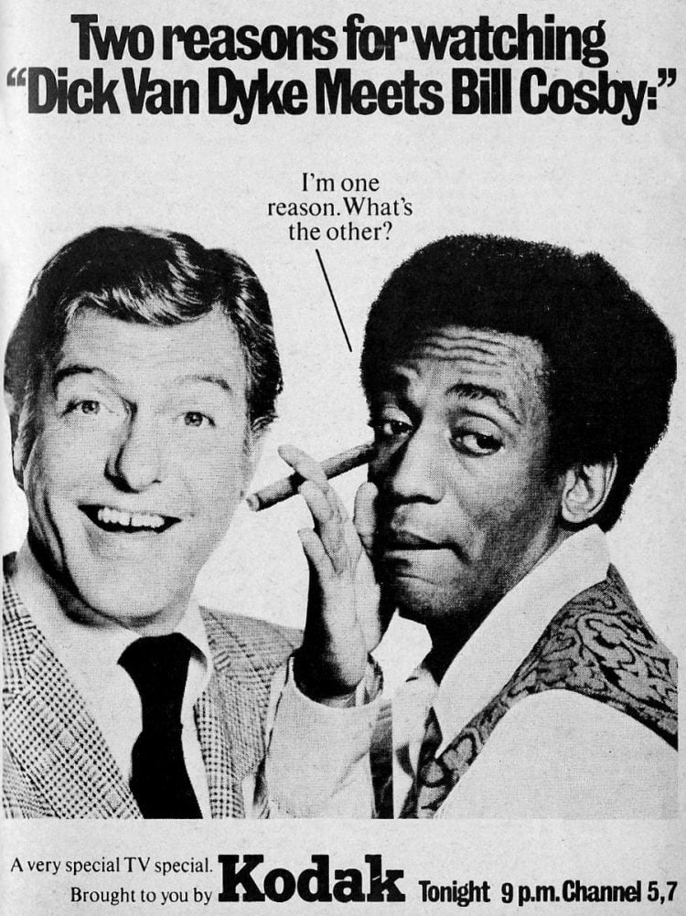 1970 Tv special - Dick Van Dyke Bill Cosby - TV Guide