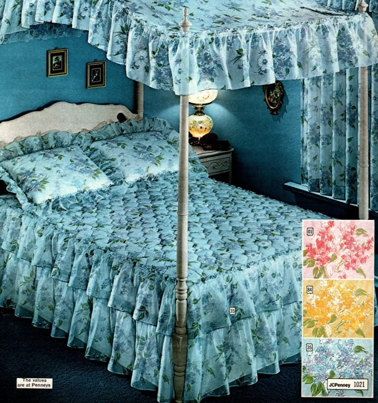 1970s canopy beds from 1973 (2)