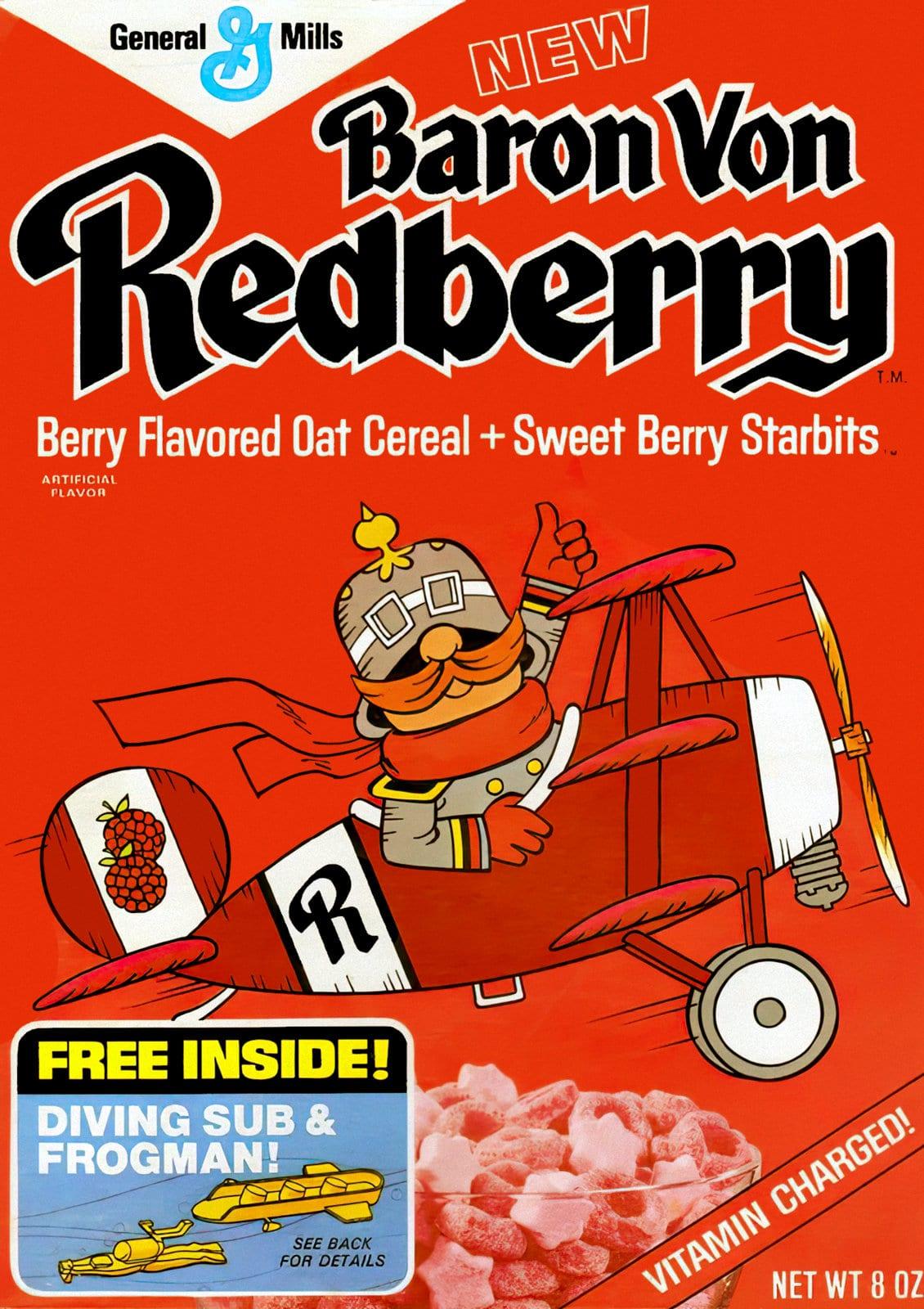 1970s cereal - Baron Von Redberry