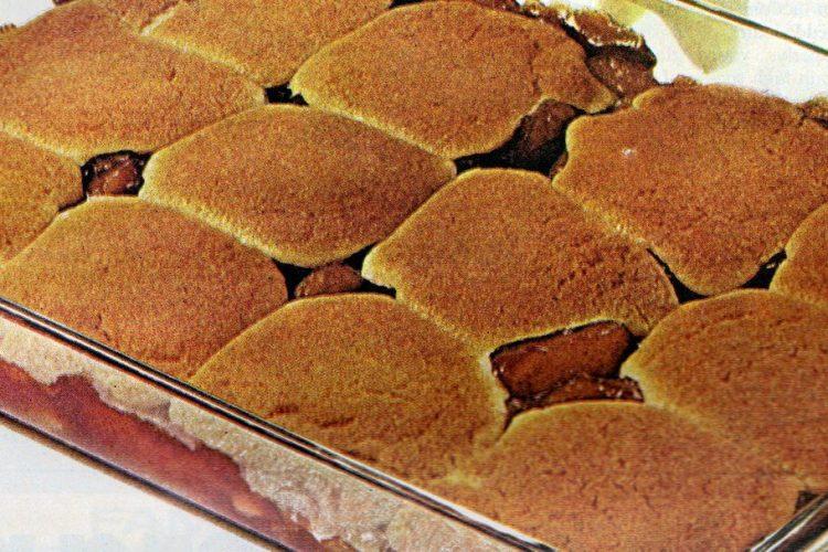 1971 Shortcut apple cobbler recipe