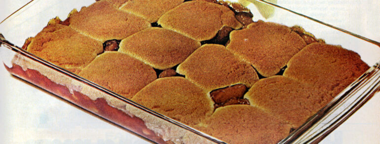 1971 Shortcut apple cobbler recipe