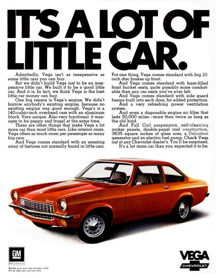 1971 Vega - Chevrolet cars