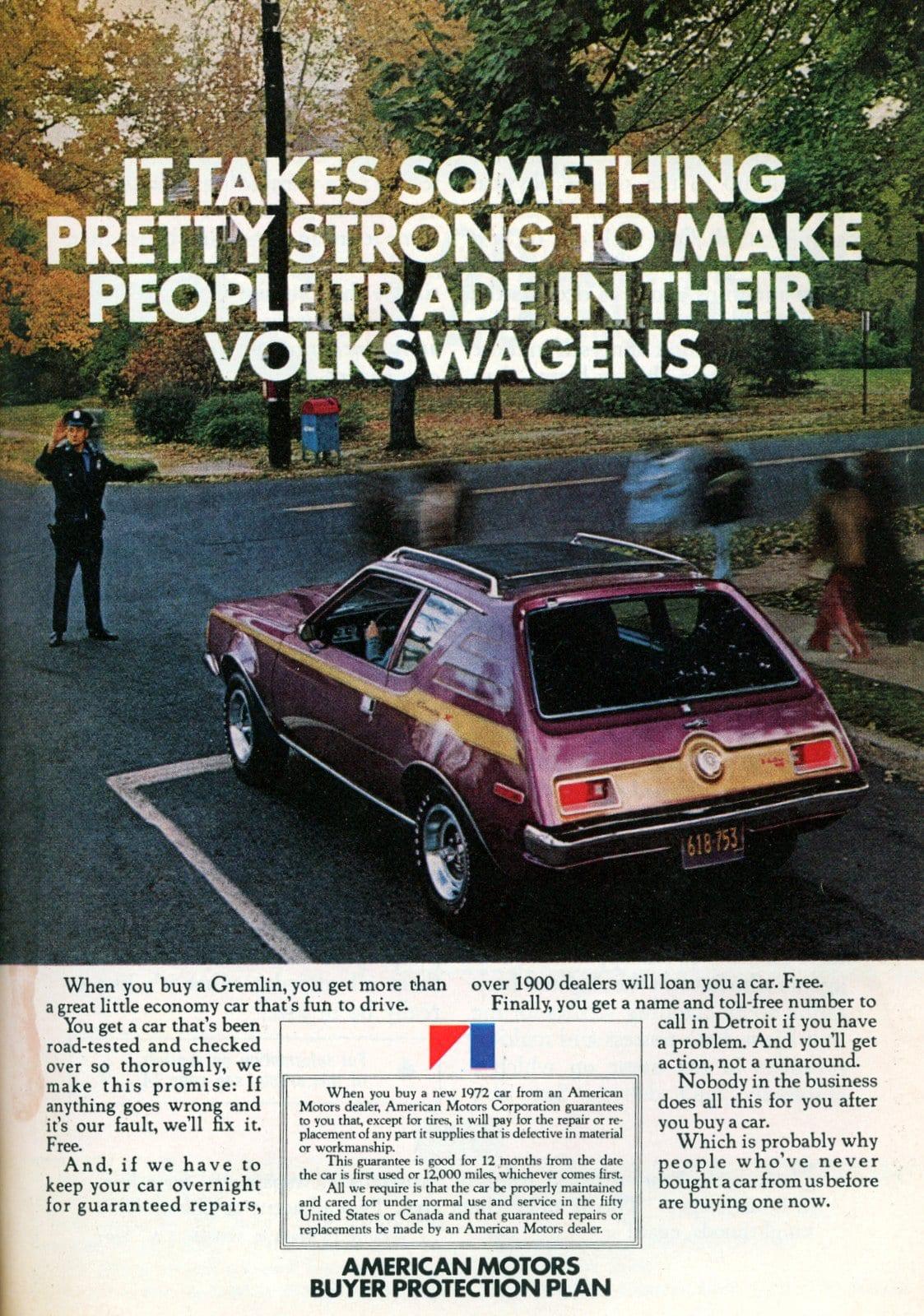 1972 American Motors Gremlin car