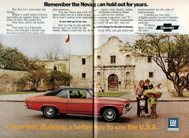 1972 Chevy Nova - Classic cars - See the USA (1)