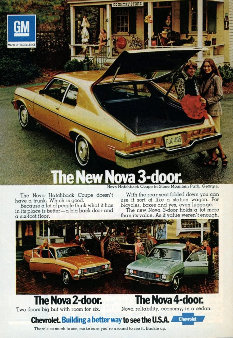 1972 Chevy Nova - Classic cars - See the USA (2)