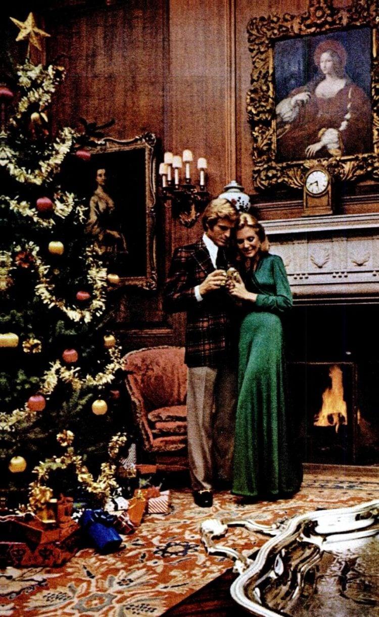 1972 Christmas home