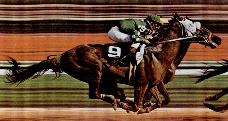 1972 Kentucky Derby horse race (1)