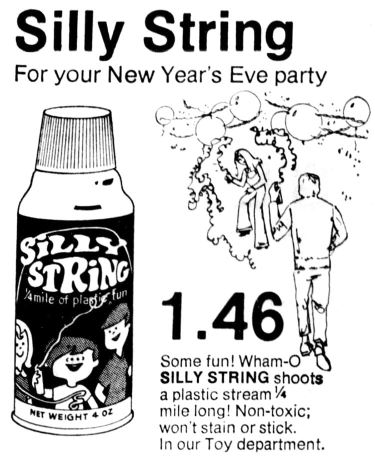 Fun with vintage Silly String! #vintagetoys #parties #sillystring #ClickAmericana