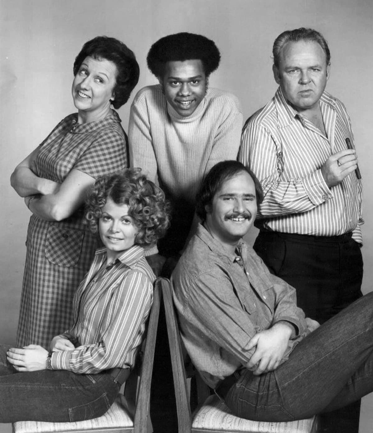 1973 - All in the Family cast