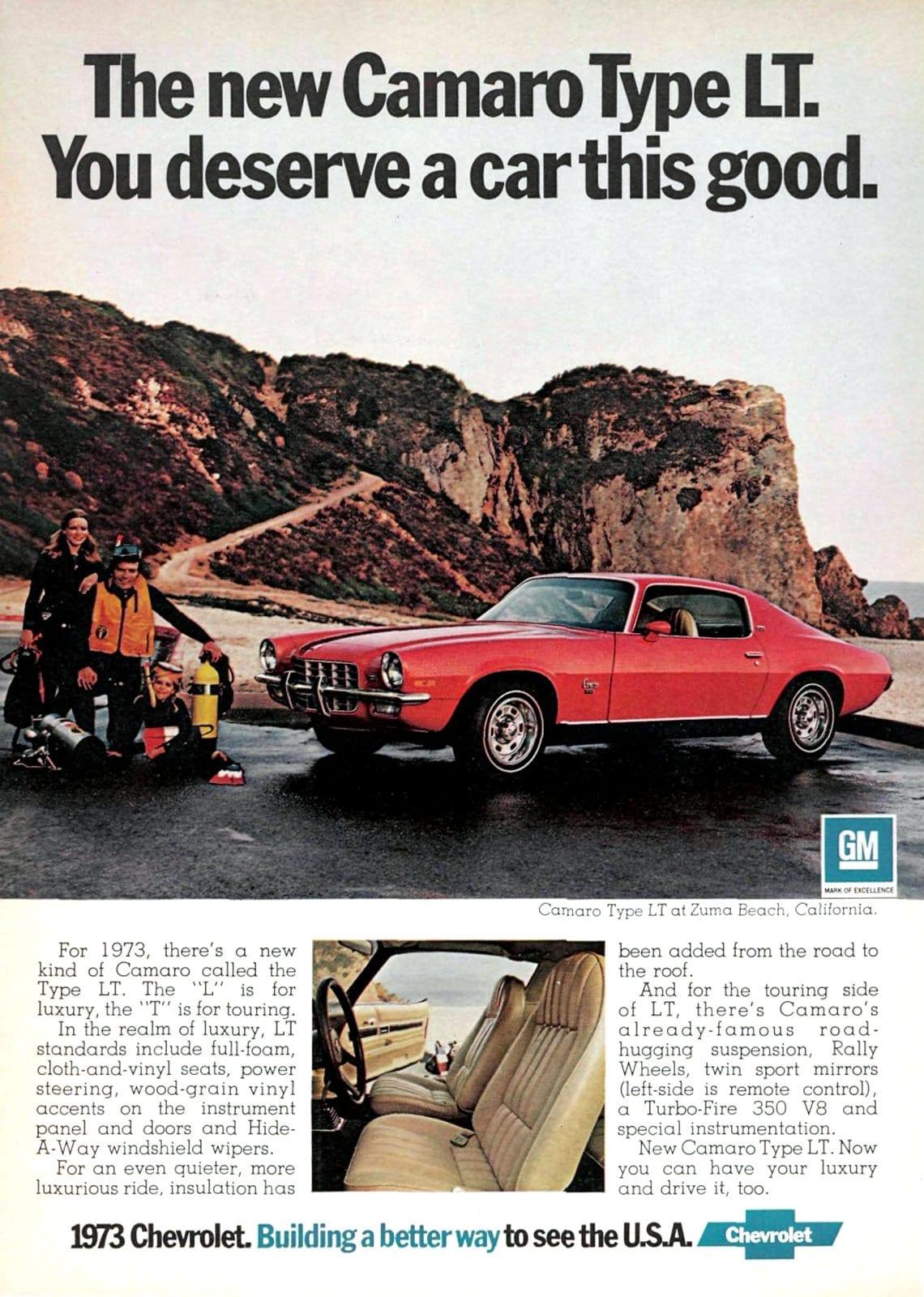 1973 Camaro Type LT
