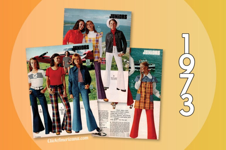 1973 Catalog - Juniors fashion clothing