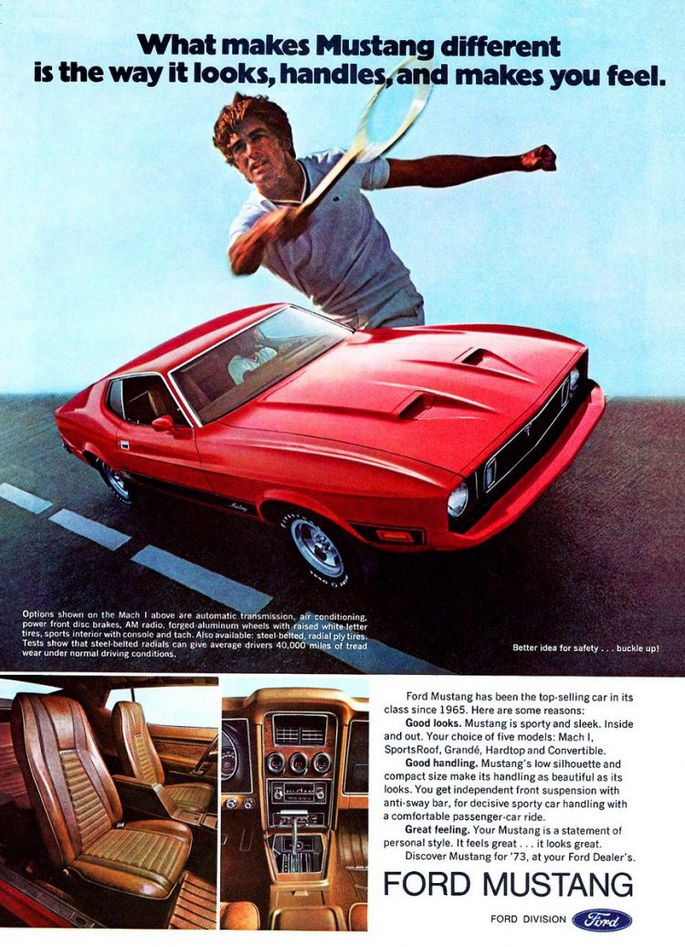 1973 Ford Mustang car
