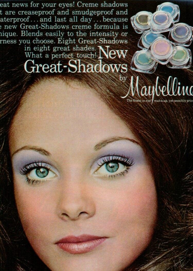 1973 Great Shadows makeup