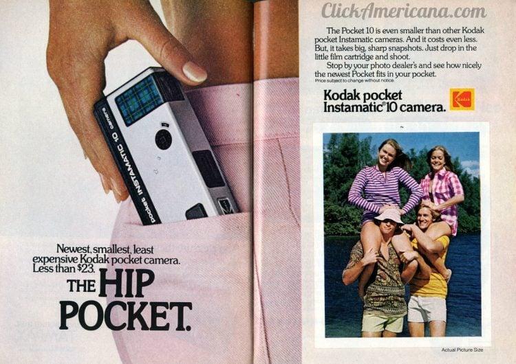 1973 Kodak Pocket Instamatic 110 camera