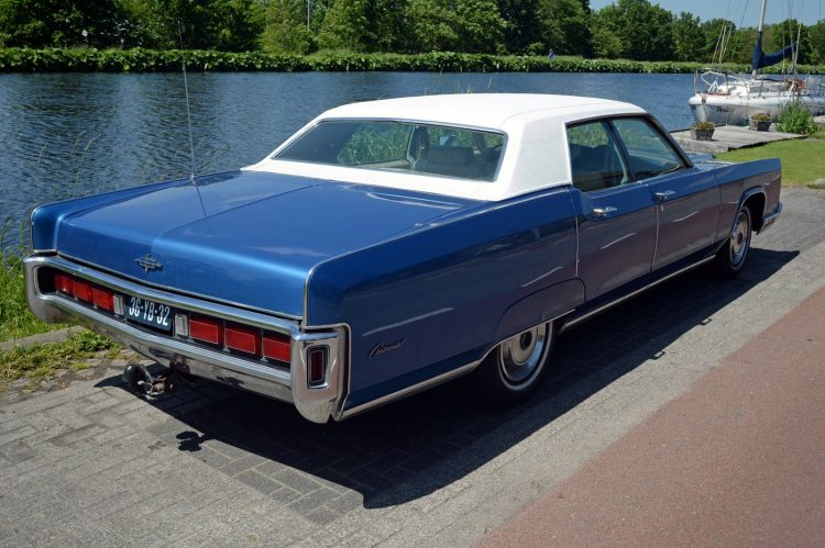 1973 Lincoln Continental Mark - Ford cars (1)