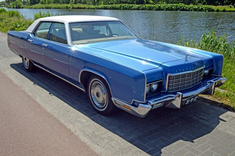 1973 Lincoln Continental Mark - Ford cars (2)