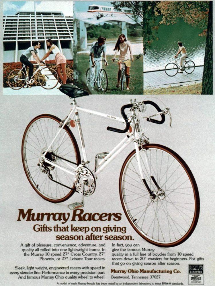 1973 Murray Racers vintage 10 speed bikes
