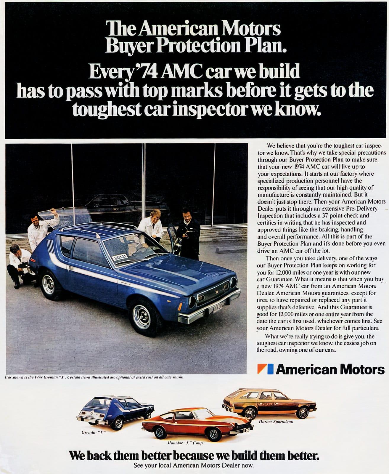 1974 AMC Gremlin - American Motors