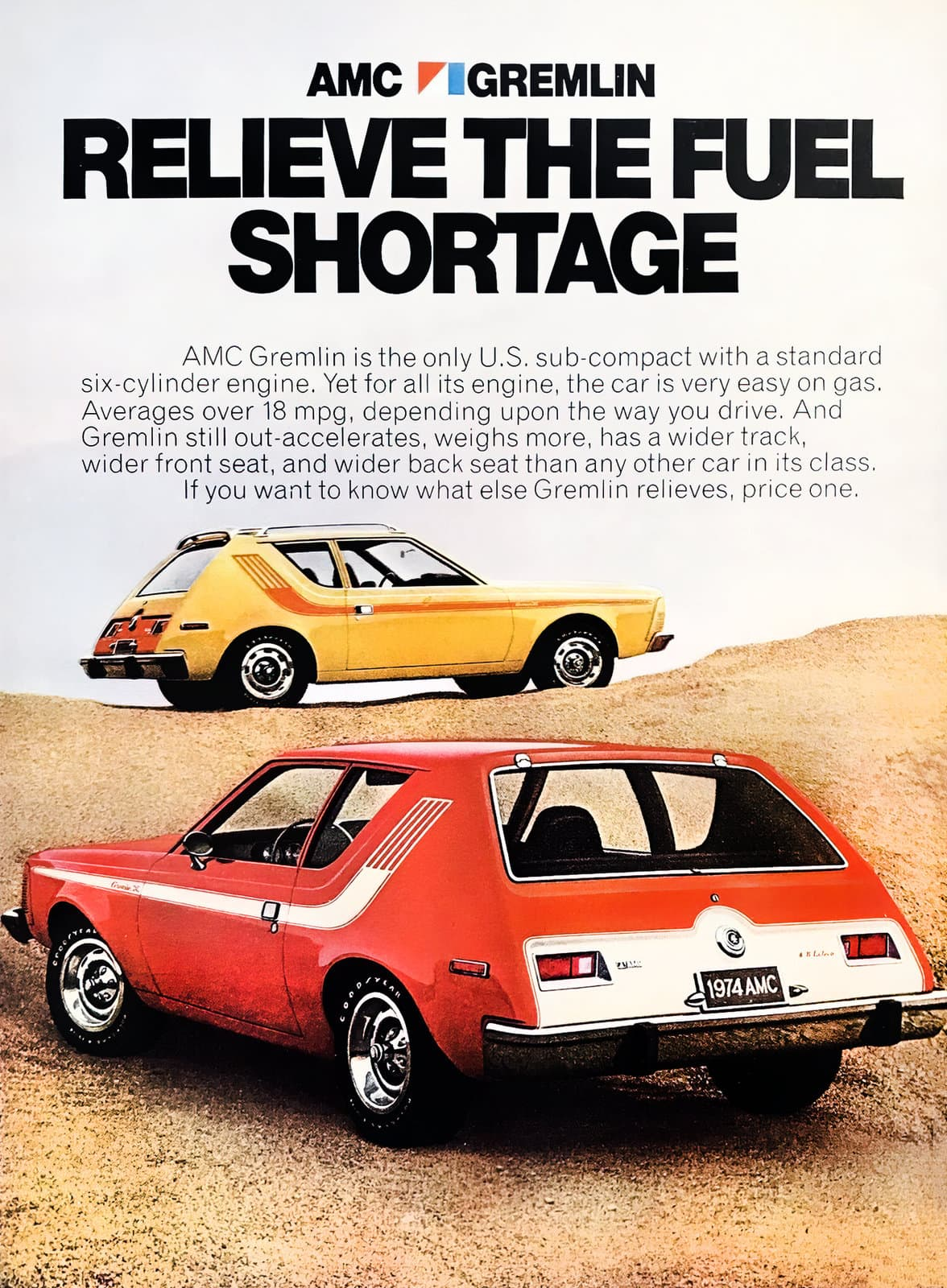 1974 AMC Gremlin - Fuel shortage