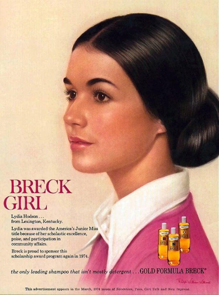 1974 - Breck girl - shampoo