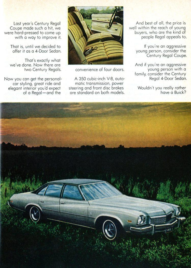 1974 Buick Century Regal