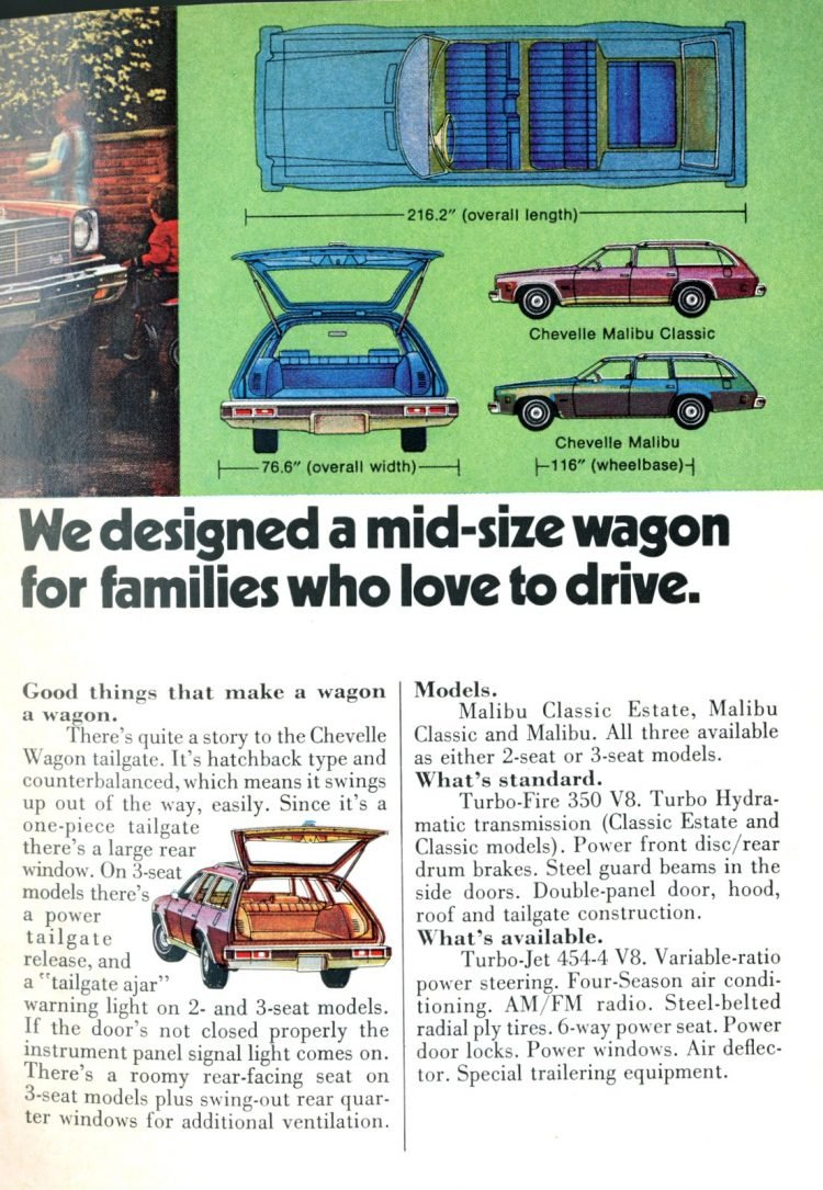 1974 Chevelle Malibu station wagons (1)
