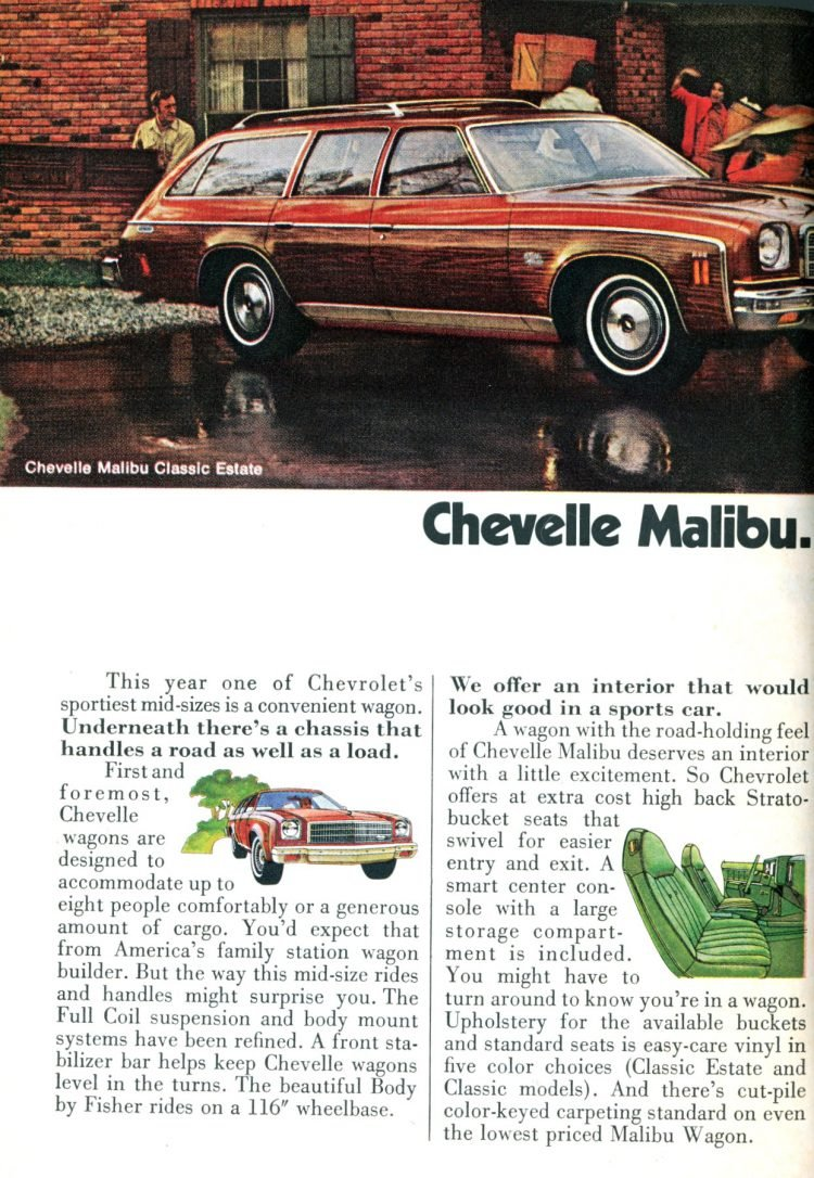 1974 Chevelle Malibu station wagons (2)