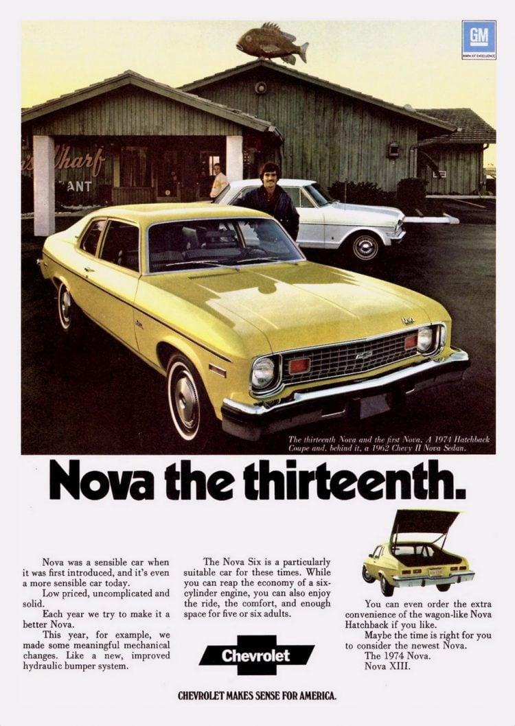 1974 Chevy Nova - Classic cars