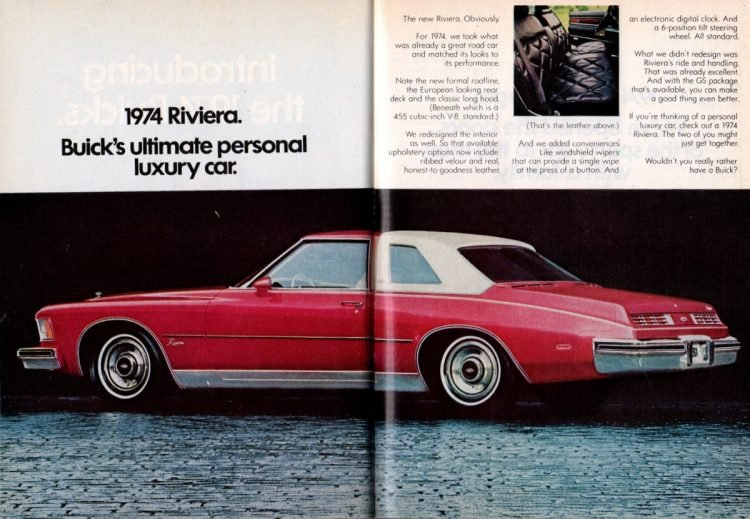 1974 Riviera - Buick's ultimate personal luxury car