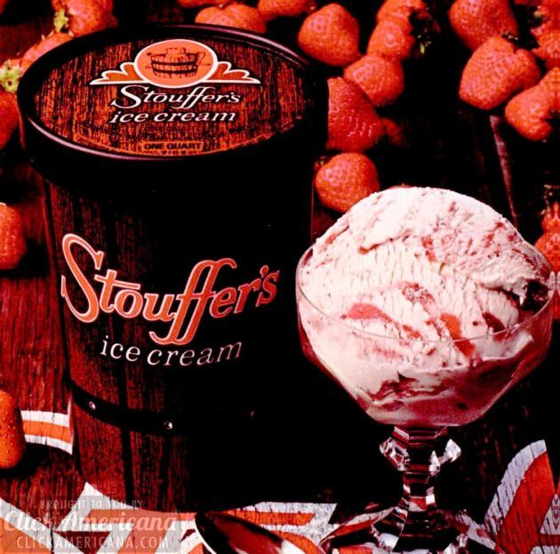 1974 Stouffer's ice cream