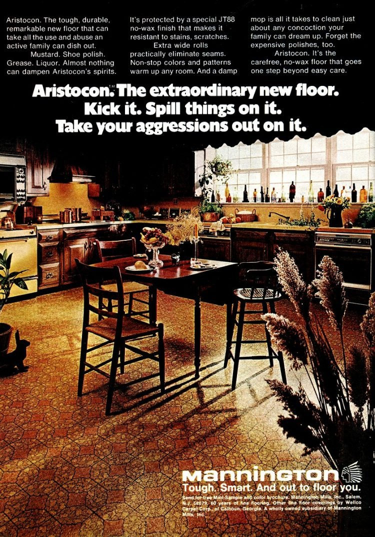1974 mannington aristocon floors