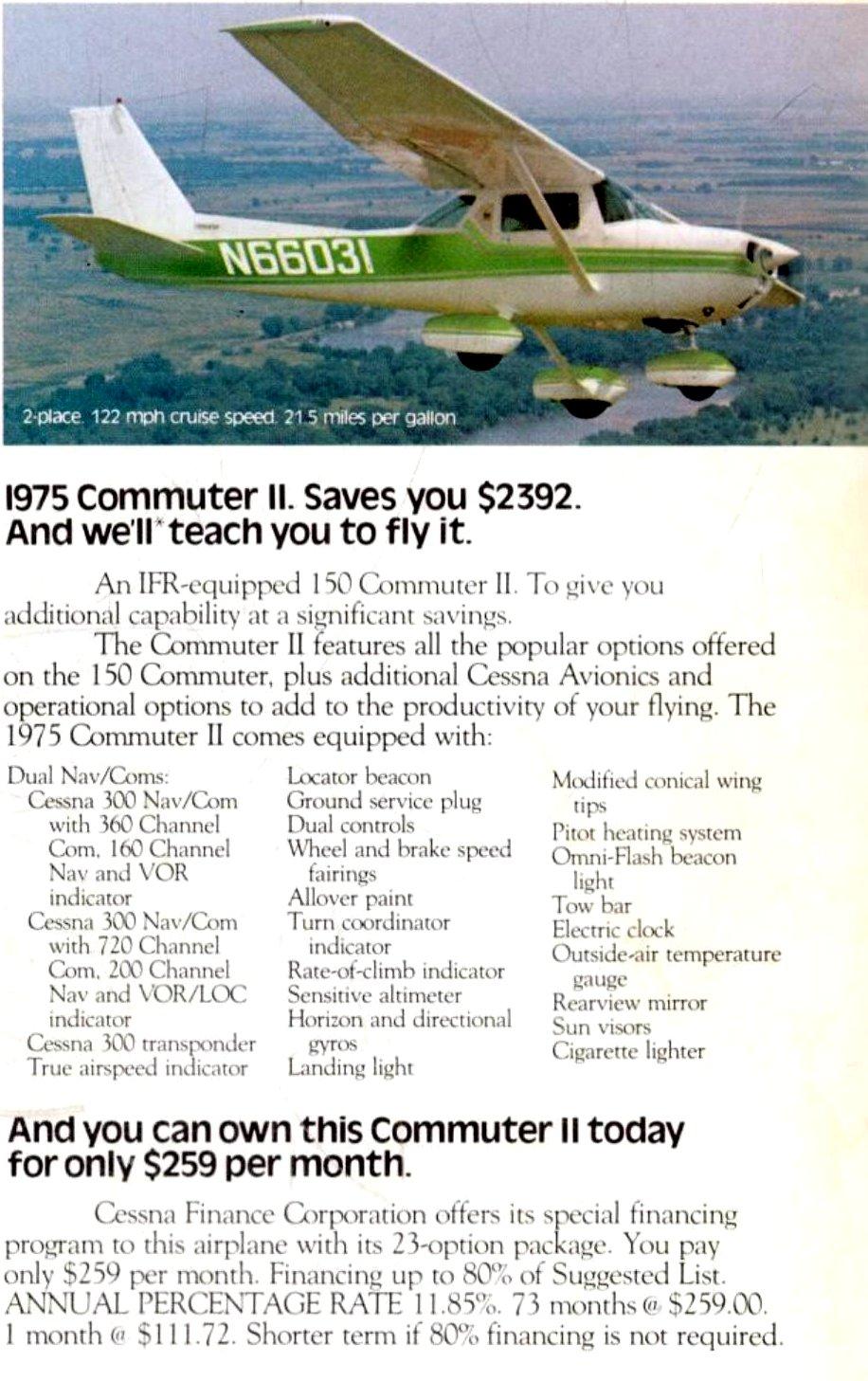 1975 Cessna Commuter II