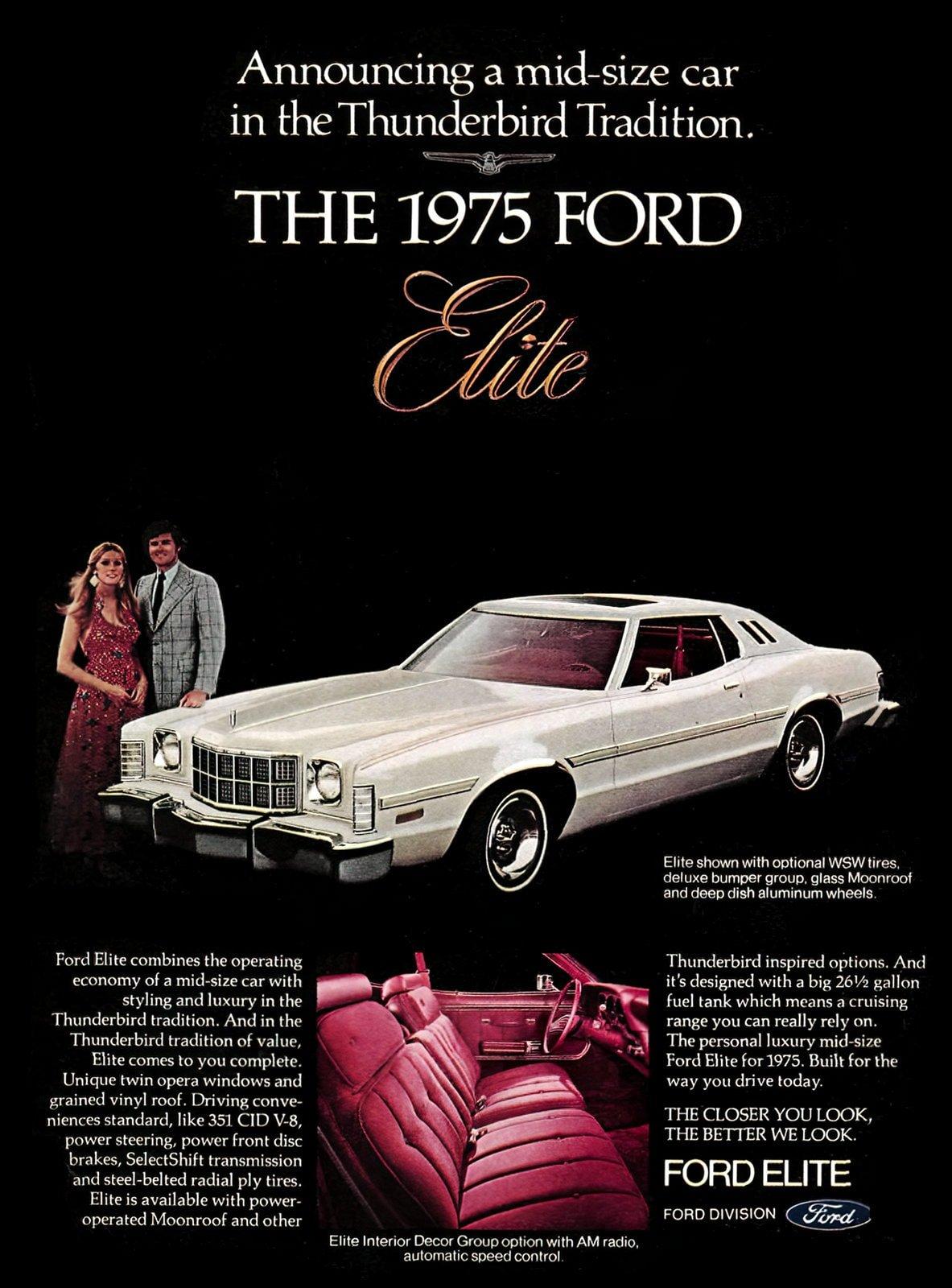 1975 Ford Elite cars