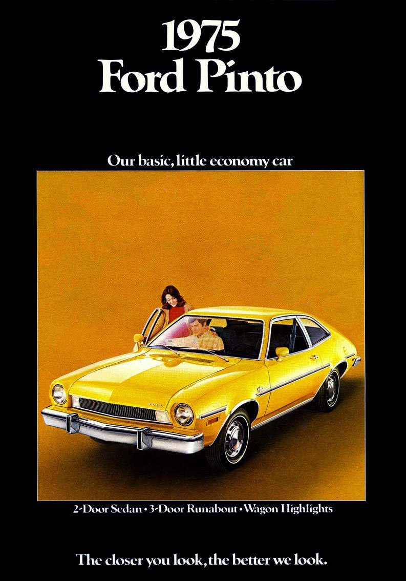 1975 Ford Pinto cars