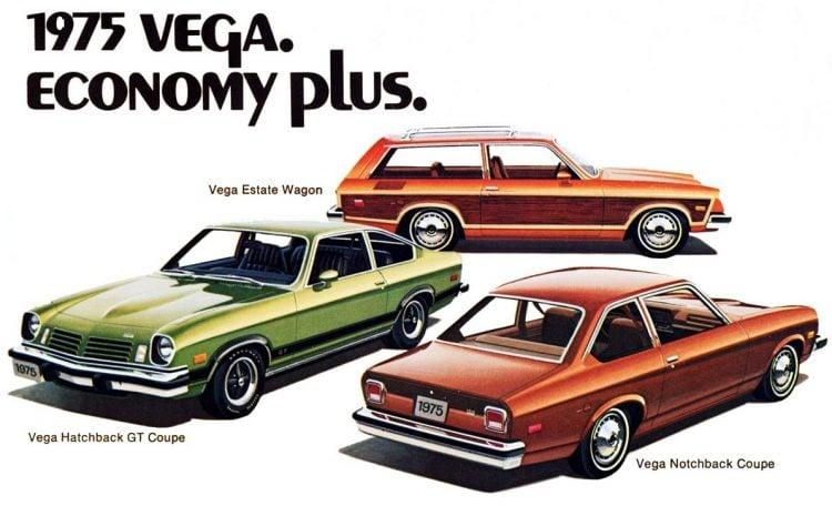 1975 Vega cars - Chevrolet