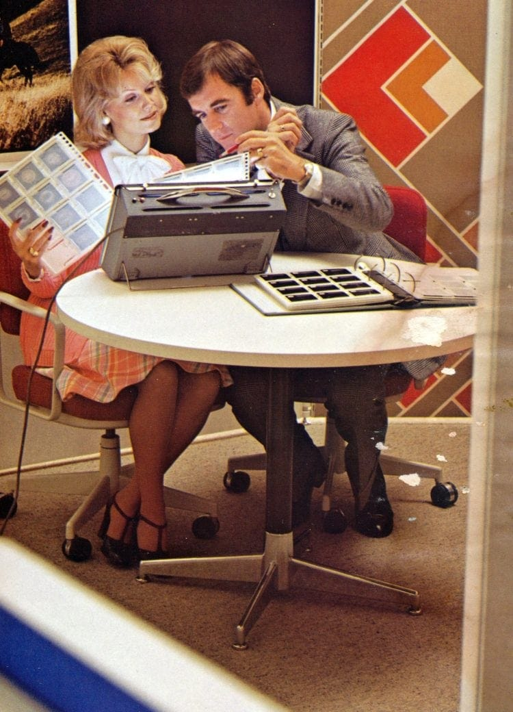 1970s business office layouts