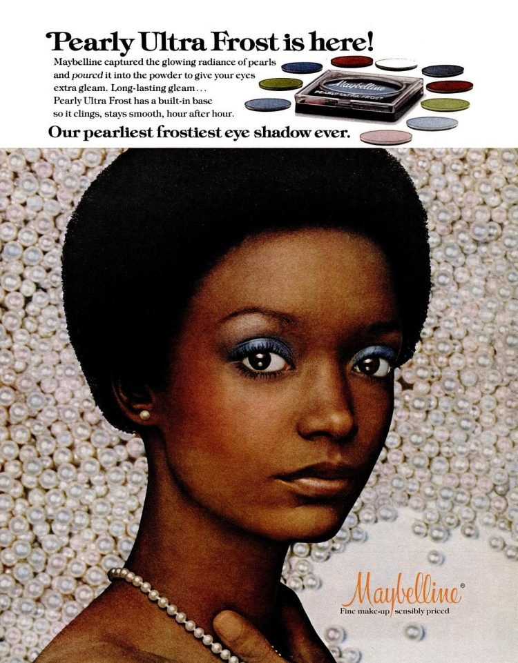 1976 Pearly ultra frost blue eyeshadow