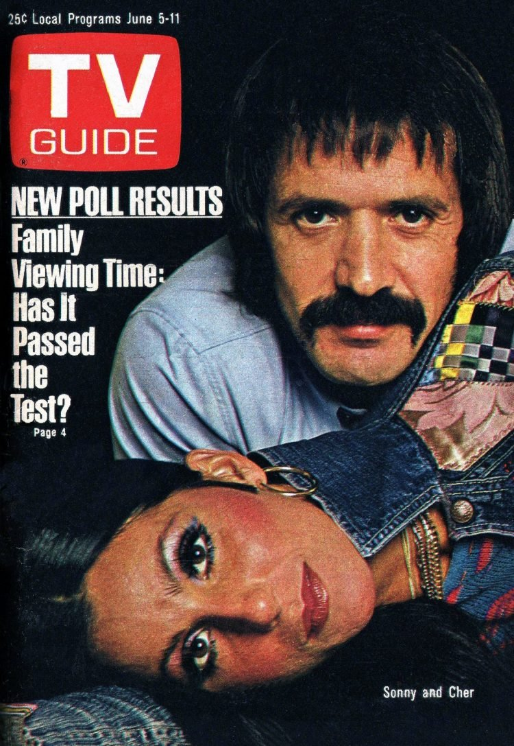 1976 TV Guide Sonny and Cher