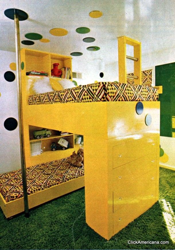 Fun furniture: Lofty bunk (1976)