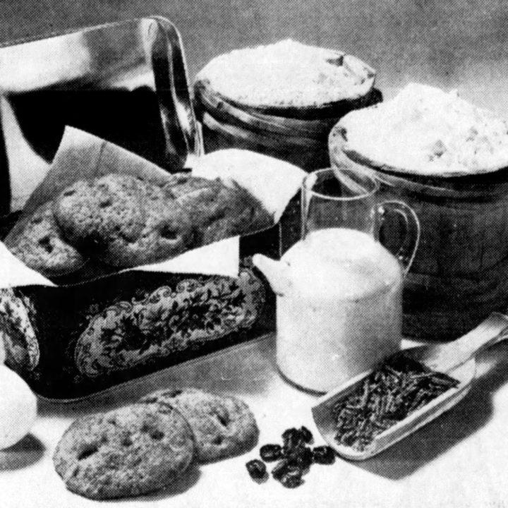 1976 vintage recipe for raisin bran cookies