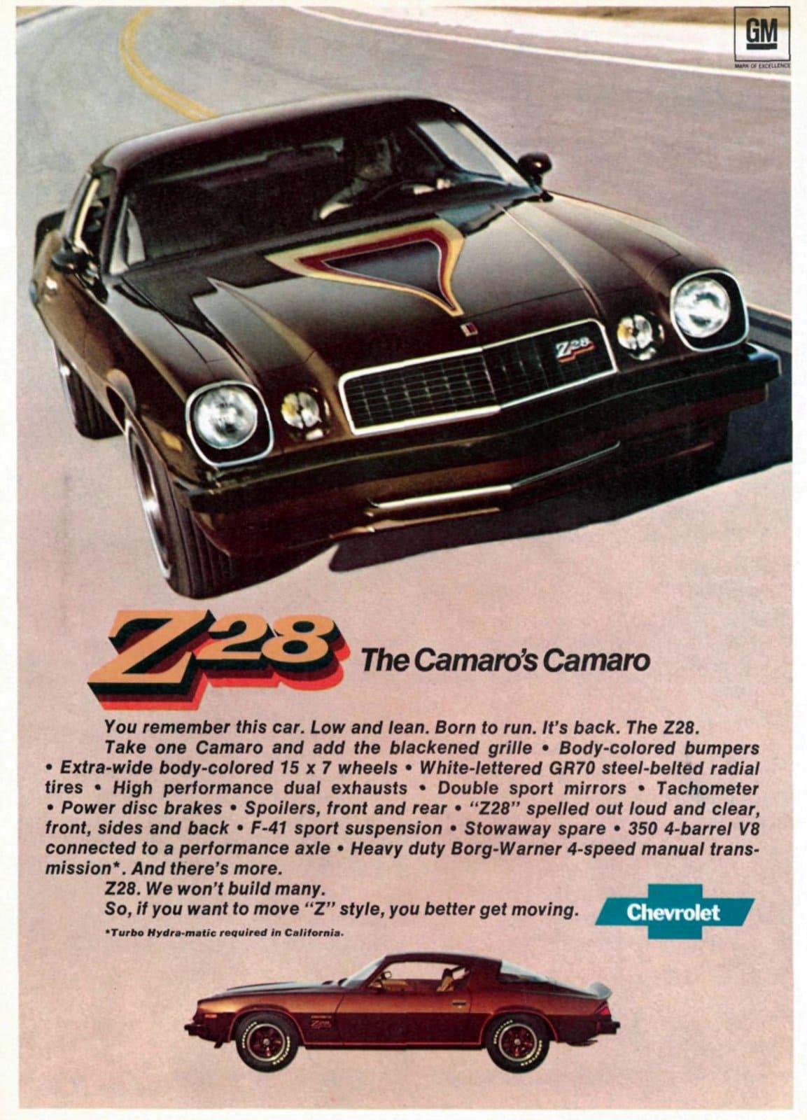 1977 Camaro Z-28