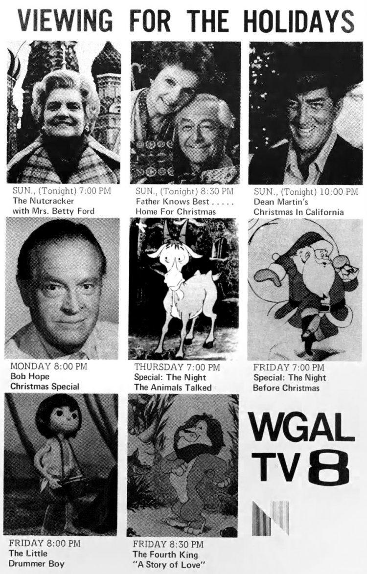 1977 Christmas TV specials