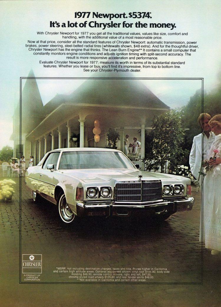1977 Chrysler Newport cars