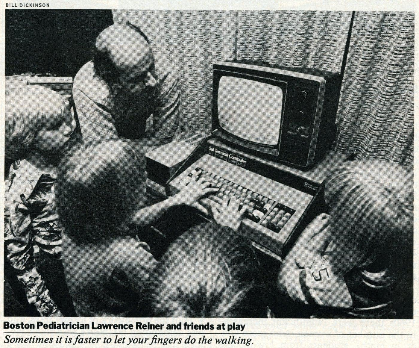 1977 Computer with kids