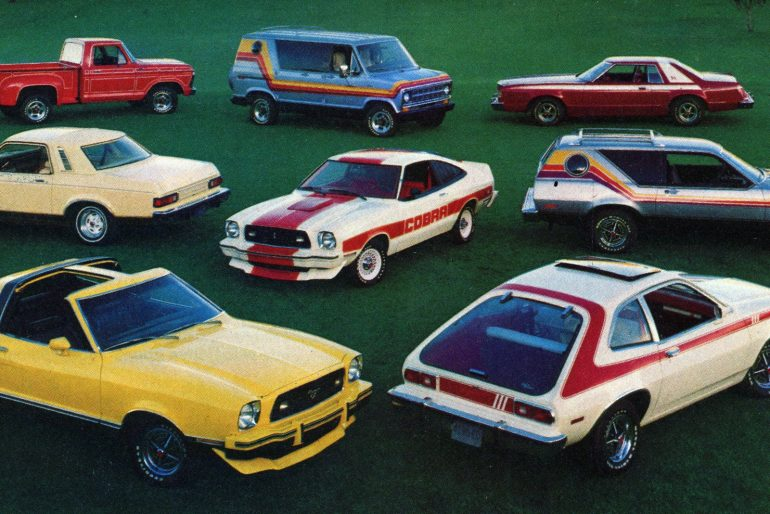 1977 Ford cars and trucks