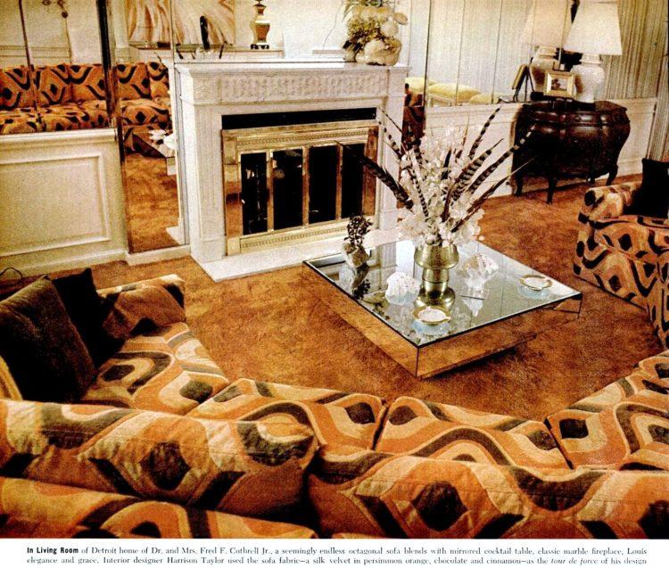 1977 Home decor - sofas